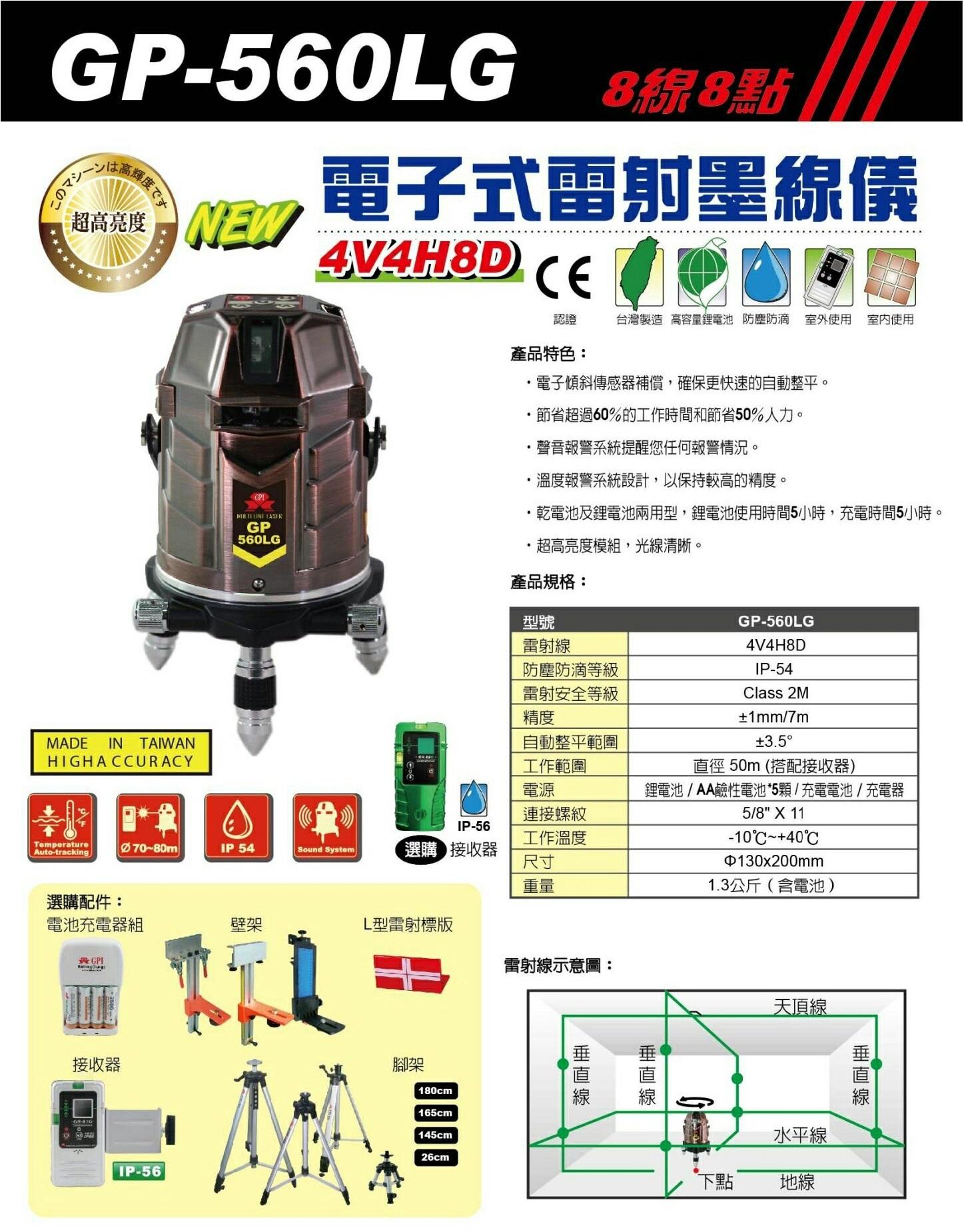 GP-560LG(綠光)